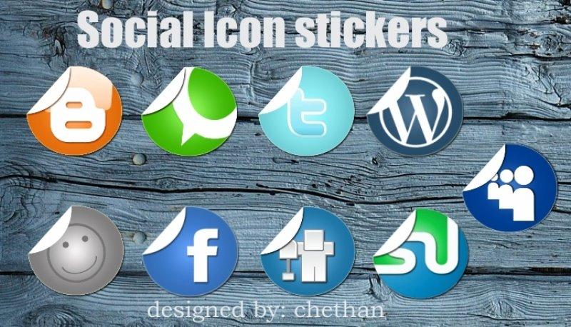 33 Artistic & Free Social Media IconsSets