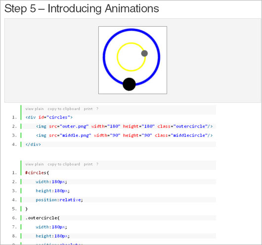 CSS3 Tutorials for Web Development