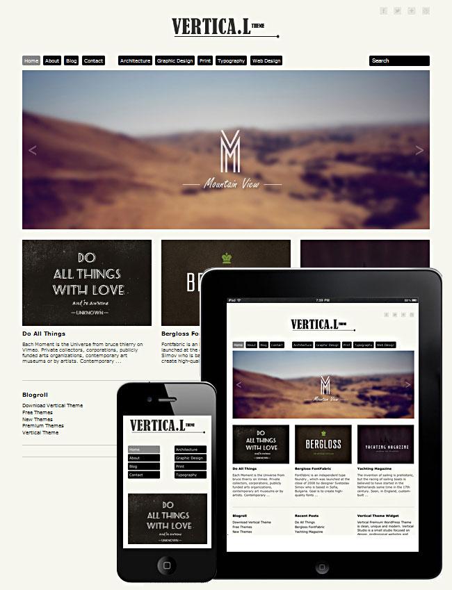 10 Minimalist WordPress Themes (+3 bonus themes)   only $27!