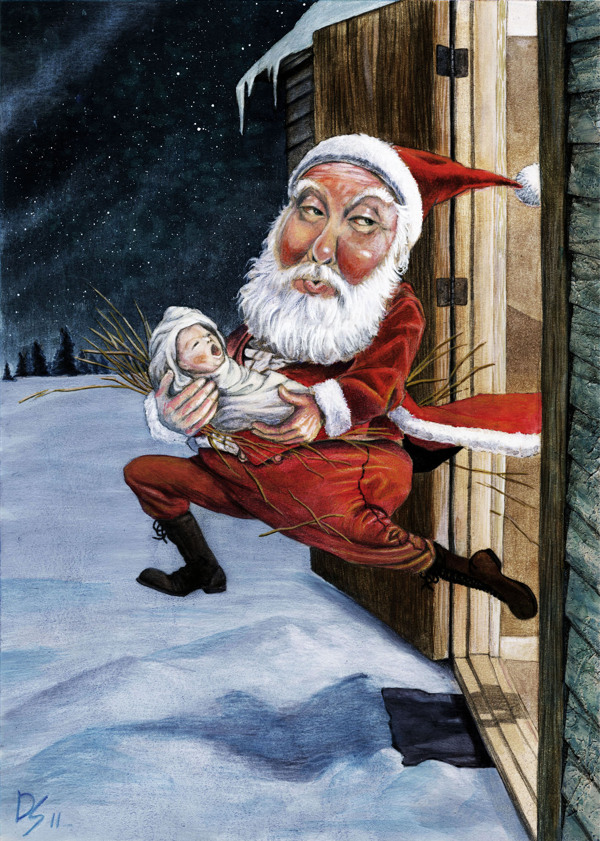 32 Creative Santa Claus Illustrations